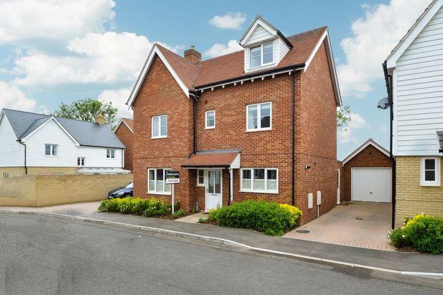 Thumbnail Detached house for sale in Eldridge Close, Clavering, Saffron Walden