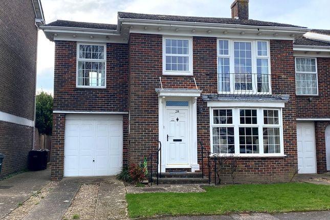 Thumbnail End terrace house for sale in Little Green, Alverstoke, Gosport, Hampshire
