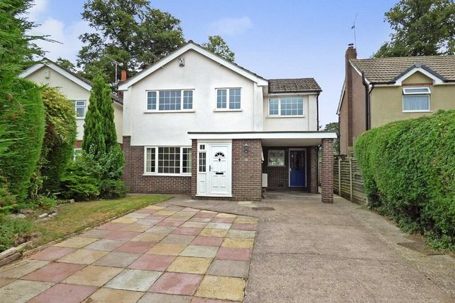 Thumbnail Detached house for sale in Sycamore Close, Nantwich