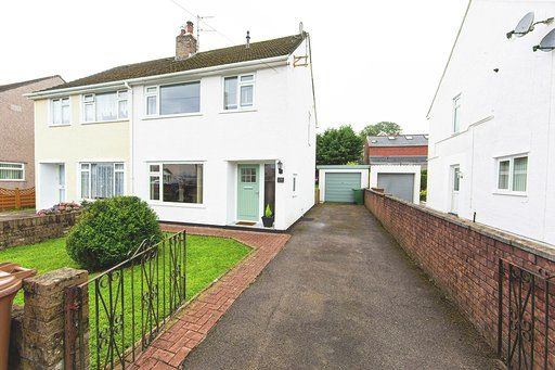 Thumbnail Semi-detached house for sale in Ffos Close, Nelson, Treharris