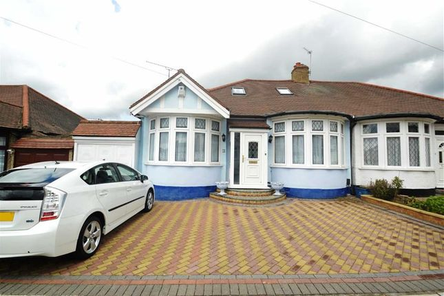 Thumbnail Semi-detached bungalow for sale in Leigh Avenue, Redbridge, Essex