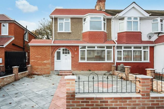 Thumbnail Terraced house for sale in Empire Road, Perivale, Greenford