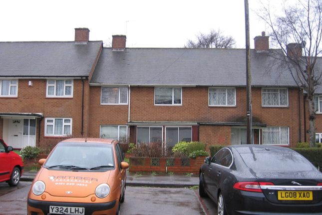 Thumbnail Terraced house to rent in Bridgelands Way, Perry Barr, Birmingham