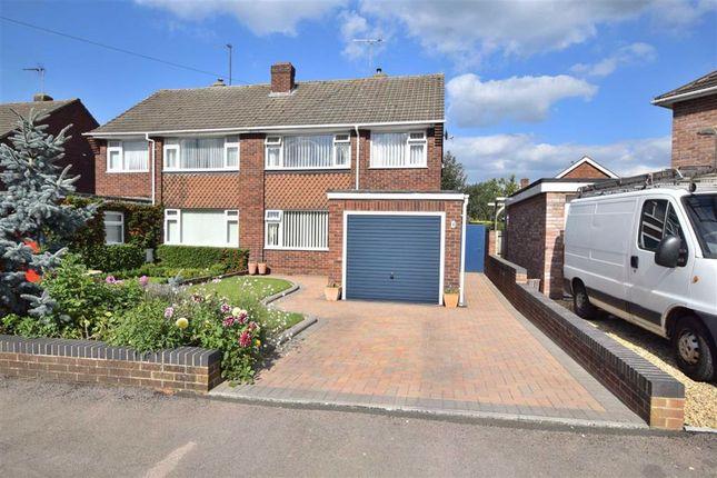 Thumbnail Semi-detached house for sale in Saintbridge Close, Saintbridge, Gloucester