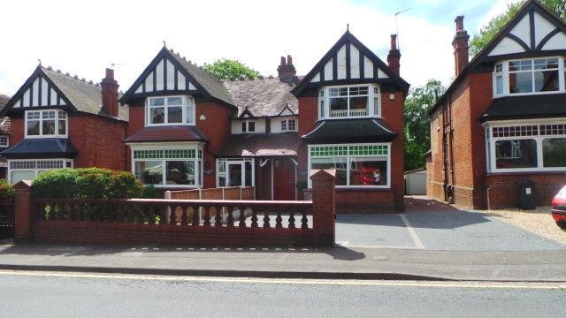 Thumbnail Semi-detached house for sale in Upper Holland Road, Sutton Coldfield, West Midlands
