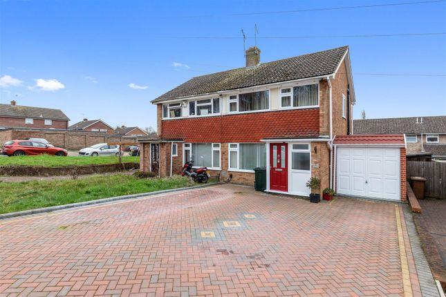 3 bed semi-detached house for sale in Cradlebridge Drive, Willesborough, Ashford TN24