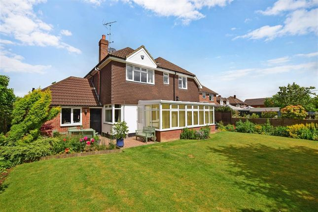 Thumbnail Detached house for sale in Park Road, Kennington, Ashford, Kent