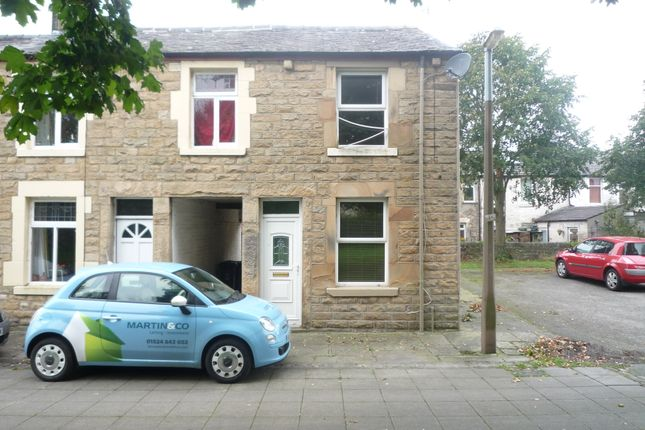 Thumbnail End terrace house to rent in Furness Street, Lancaster