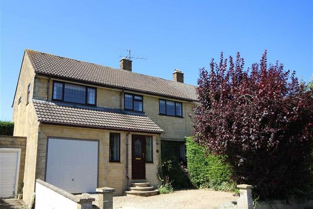 Thumbnail Semi-detached house for sale in Berry Hill Road, Cirencester, Gloucestershire