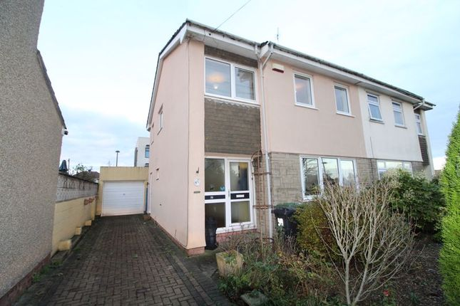 Thumbnail Semi-detached house for sale in Cranbourne Road, Patchway, Bristol