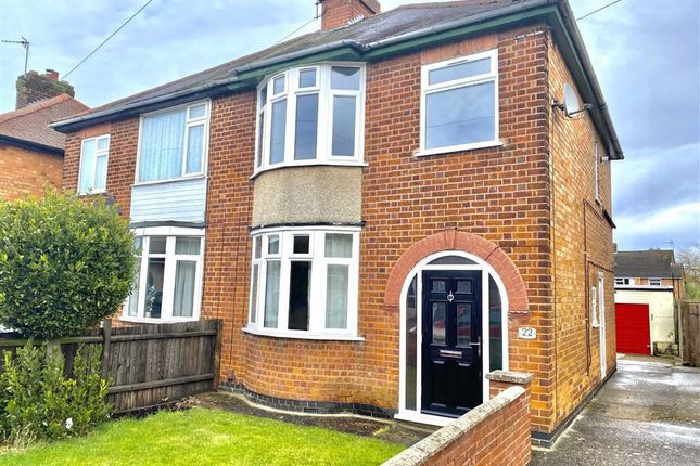 Thumbnail Semi-detached house to rent in Netherley Road, Hinckley