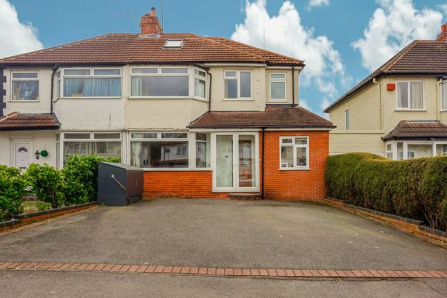 Thumbnail Semi-detached house for sale in Yoxall Road, Shirley, Solihull