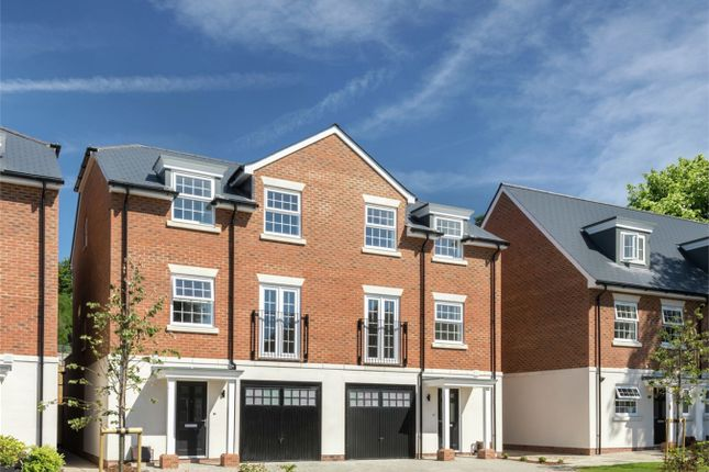 Thumbnail Semi-detached house for sale in Portesbery Square, Camberley, Surrey