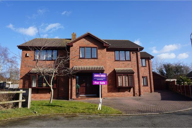 Thumbnail Detached house for sale in Peewit Close, Winsford