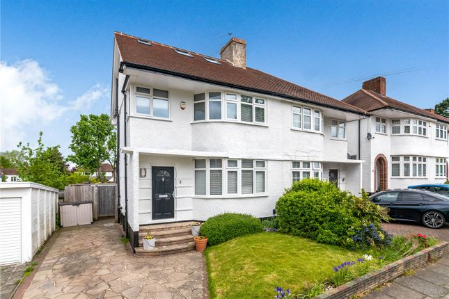 Thumbnail Semi-detached house for sale in Fieldway, Petts Wood, Orpington