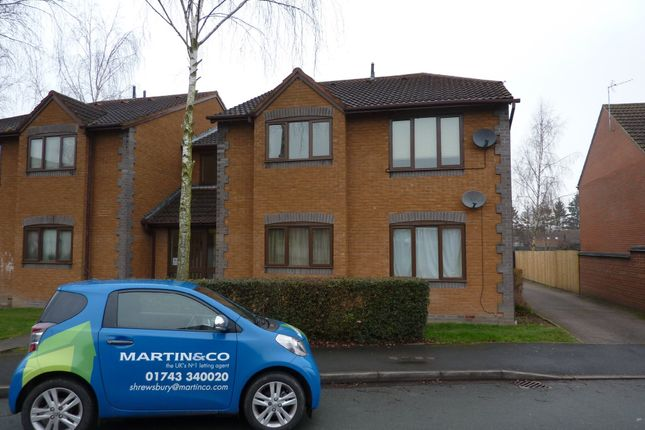 Thumbnail Flat to rent in Lambourn Drive, Bicton Heath, Shrewsbury