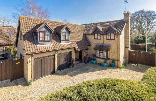 Thumbnail Detached house for sale in Forge Gardens, Yielden, Bedford, Bedfordshire