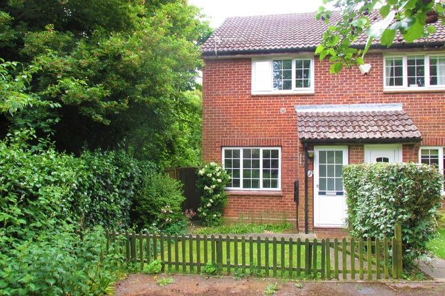 Thumbnail End terrace house for sale in Medlar Close, Hedge End, Southampton