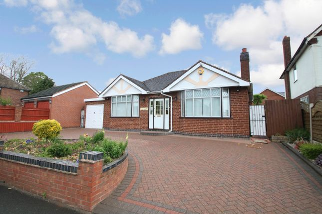 Thumbnail Detached bungalow for sale in Woodcroft Avenue, Tamworth