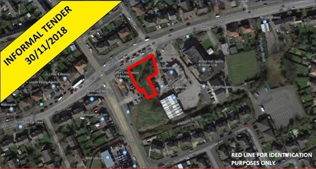 Thumbnail Land for sale in Land, Manchester Road, Warrington