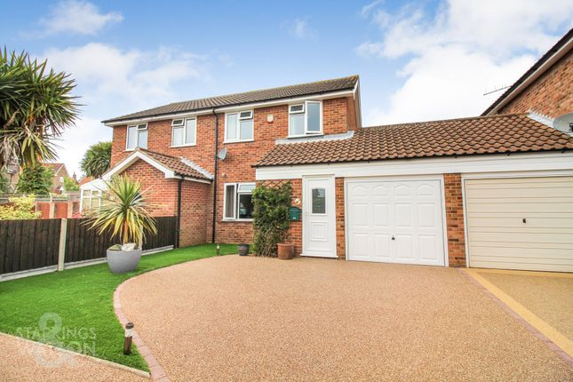 Thumbnail Semi-detached house for sale in Broadland Way, Acle, Norwich