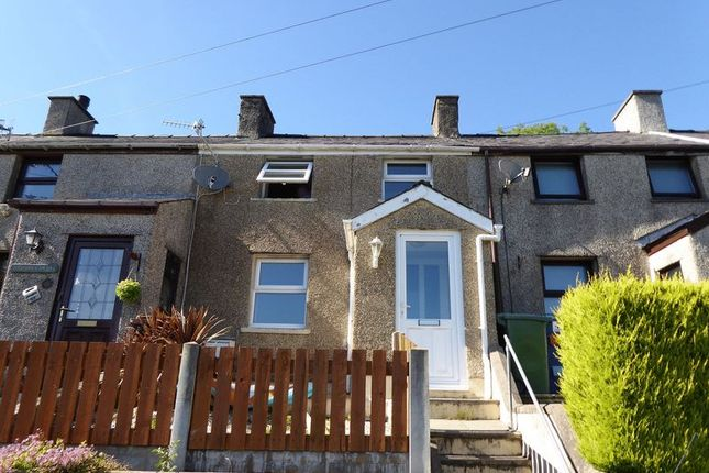 Thumbnail Terraced house for sale in Hyfrydle Road, Talysarn, Caernarfon