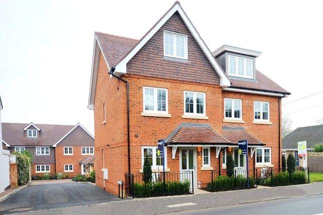 Thumbnail Semi-detached house for sale in Fernbank Road, Ascot, Berkshire
