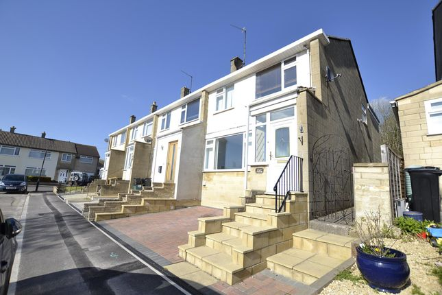 Thumbnail Terraced house for sale in Purlewent Drive, Bath
