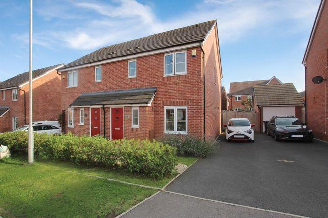 3 bed semi-detached house to rent in Jenson Street, Cofton Hackett, Birmingham B45