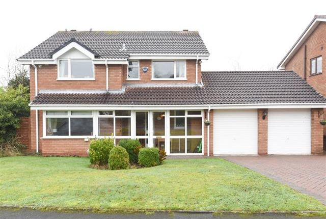 Thumbnail Detached house for sale in Lowercroft Way, Four Oaks, Sutton Coldfield