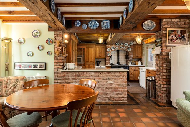 Kitchen of Ridley Hill Farm, Ridley, Tarporley, Cheshire CW6