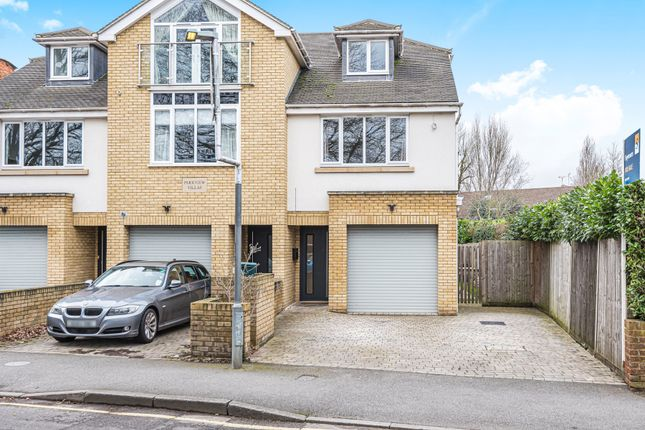 Thumbnail Semi-detached house for sale in Camphill Road, West Byfleet