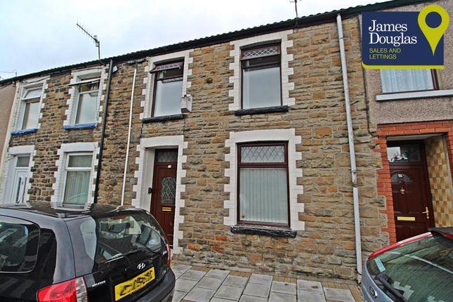 Thumbnail Terraced house to rent in Morgan Terrace, Porth, Rhondda Cynon Taff
