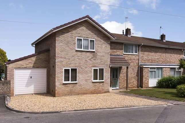 Thumbnail Semi-detached house for sale in Goold Close, Corston, Bath