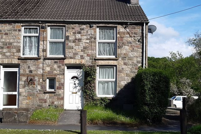 Thumbnail End terrace house to rent in Crown Cottages, Ystradgynlais, Swansea.