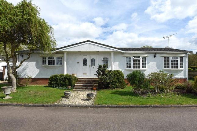 Thumbnail Mobile/park home for sale in Charmbeck Park, Haveringland, Norwich