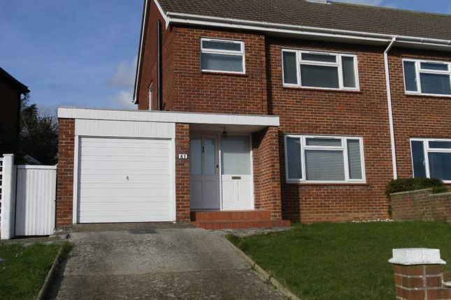 Thumbnail Semi-detached house for sale in Pentland Rise, Portchester
