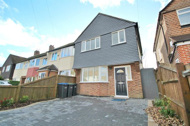Thumbnail Semi-detached house for sale in Kenilworth Crescent, Enfield