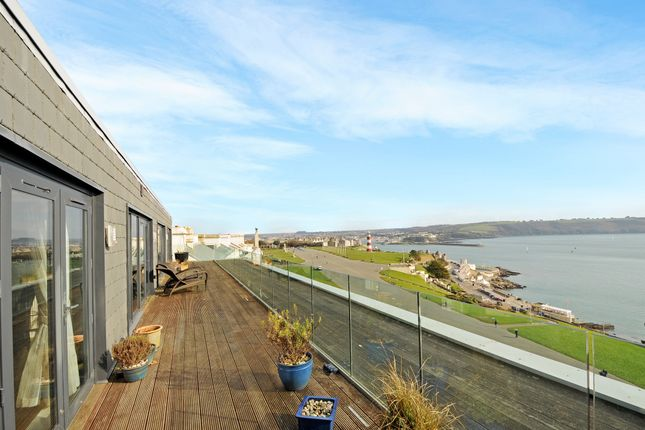Thumbnail Flat for sale in Cliff Road, Plymouth