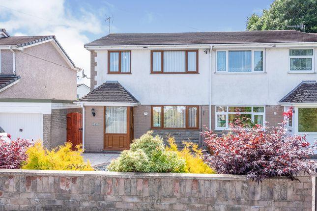 Thumbnail Semi-detached house for sale in Crown Lane, Pontllanfraith, Blackwood