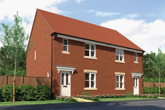 "Thumbnail Semi-detached house for sale in ""The Hurston"" at Redcar Lane, Redcar"