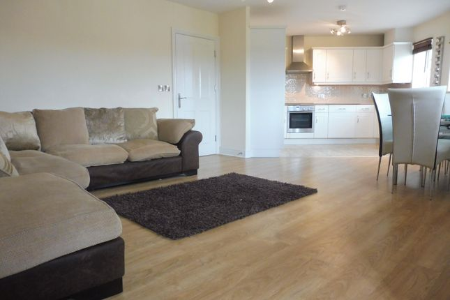 Thumbnail Flat to rent in Harlow Crescent, Oxley Park, Milton Keynes