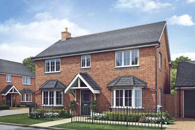 Thumbnail Detached house for sale in Sudbury Road, Yoxall, Burton-On-Trent