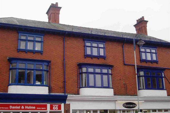 Thumbnail Flat to rent in 62-64 Derby Street, Leek, Leek