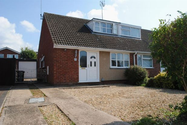 Thumbnail Semi-detached house for sale in Reynard Way, Kingsthorpe, Northampton