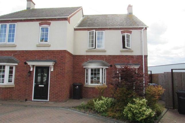 Thumbnail Semi-detached house to rent in Dumolos Lane, Glascote, Tamworth, Staffordshire