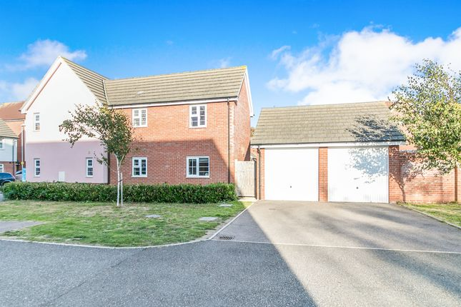 Thumbnail Detached house for sale in Heron Way, Dovercourt, Harwich