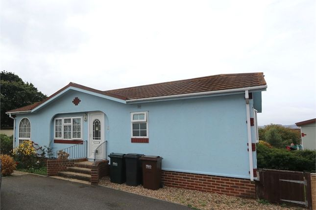 Thumbnail Mobile/park home for sale in Oak Tree Close, Eastbourne, East Sussex