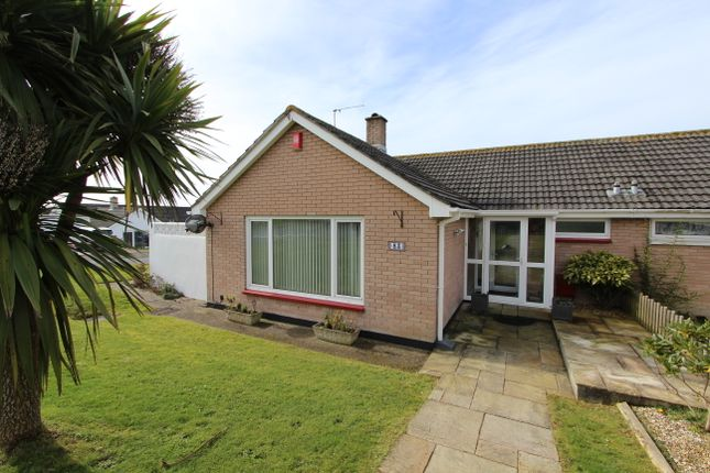 Thumbnail Semi-detached bungalow for sale in Peacock Avenue, Torpoint