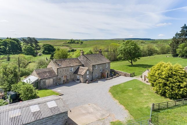 Thumbnail Farmhouse for sale in Lodge Farm, Scargill, Barnard Castle, County Durham
